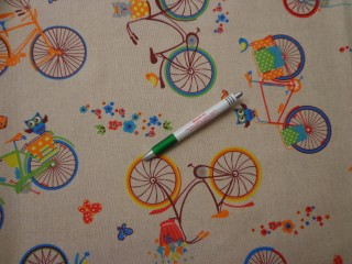 Loneta, biciklis-baglyos kerti bútor vászon (10009)