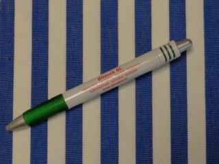 UV álló kültéri vászon, kék matróz csíkos (10061)