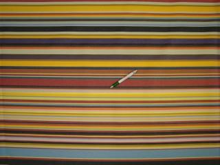 Nyugágyvászon, színes csíkos, 155 cm széles (10065)