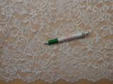 Rugalmas csipke, ekrü, kisvirágos, slingelt (10111)