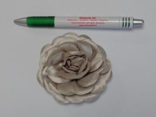 Szatén rózsa, nagy, drapp (10137)