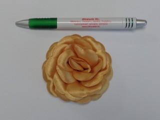 Szatén rózsa, nagy, mustár (10138)