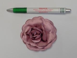 Szatén rózsa, nagy, mályva (10141)