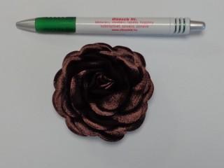 Szatén rózsa, nagy, barna (10142)