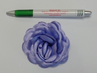 Szatén rózsa, nagy, világos lila (10144)