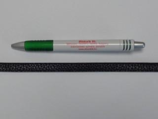 Műbőr pánt táskára, fekete (10271)