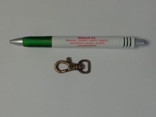Karabíner, 10 mm-es, ósárgaréz (10277)