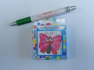 Gombkivarró, pillangós (10285)