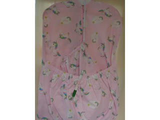 Ovis zsák és tornazsák, rózsaszín alapon pónis (10368)