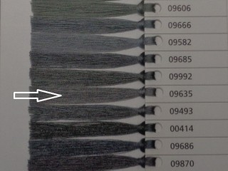 Astra cérna, barnás szürke, 1000 m, 120-as vastagságú (10396-9635)