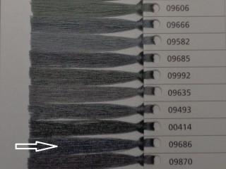 Astra cérna, közép szürke, 1000 m, 120-as vastagságú (10401-9686)