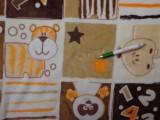 Wellsoft, barna-darpp állatos, számos (10510)