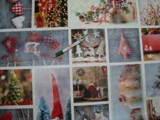 Viaszos vászon, karácsonyi (10685)