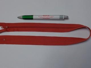 RT-0, 50 cm hosszú, műanyag, spirál fogú cipzár, terrakotta (10750)