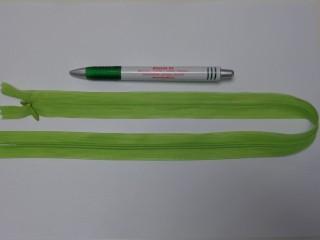 Rejtett cipzár, 50 cm-es, kiwi (10759)