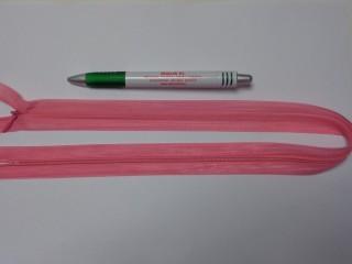 Rejtett cipzár, 50 cm-es, rózsaszín (10771)