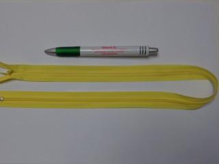 Rejtett cipzár, 50 cm-es, citrom (10775)