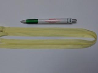 Rejtett cipzár, 50 cm-es, vanília (10776)
