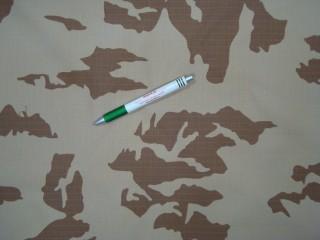 Ripstop - szakadás nehezített - sivatagi terepmintás vászon, 200g/m2 (10806)