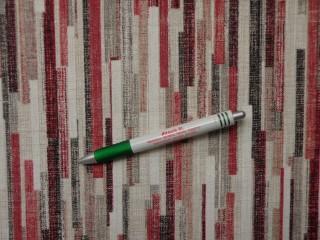 Loneta, bordó-fekete csíkos, kerti bútor vászon (10848)
