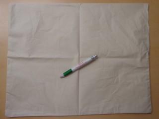 Angin, tollálló párnahuzat, 48x68 cm-es félpárnához (10874)