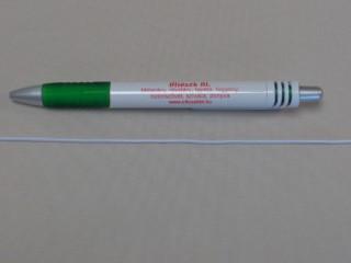 Gumizsinór, fehér, 3 mm-es (11000)
