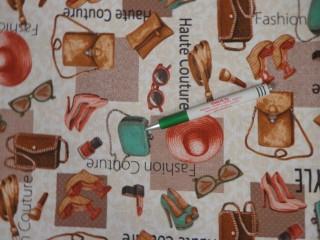 Loneta, divat mintás kerti bútor vászon (11100)