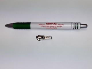Automata cipzár kocsi RT-10-es zárt cipzárhoz, nikkel (11119)
