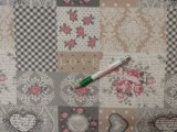 Loneta, patchwork mintás kerti bútor vászon (11156)