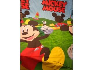 240 cm széles pamutvászon, nagy Mickey-s (11335)