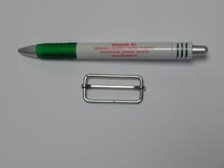 Mozgó-csúszó fémkellék, 40 mm (11366)