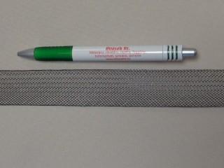 Lószőr szalag, fekete, 30 mm széles (11432)