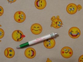 Loneta, smiley mintás kerti bútor vászon (11457)