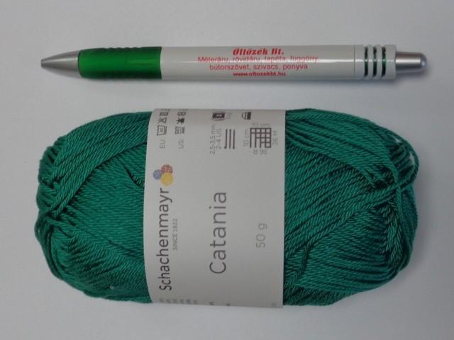 Catania fonal, smaragd zöld (11556-430)