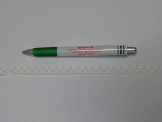 Pamut csipke, ekrü, 12 mm széles (11870)