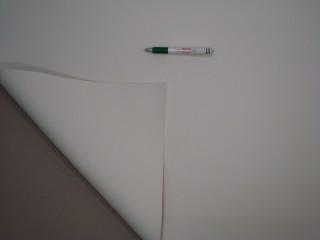 Neoprén, 3 mm vastag, fehér színben - ami melegen tart!  (11639-1)