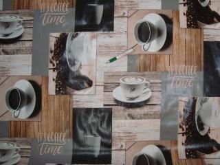 Viaszos vászon, kávécsészés (11948)