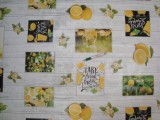 Viaszos vászon, citromos-limonádés (11951)