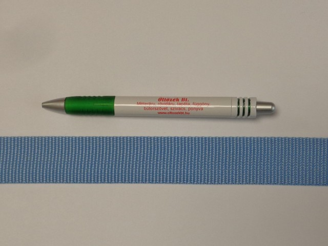 3 cm széles heveder, közép kék (11971)