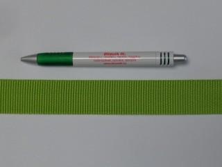 3 cm széles heveder, lime (11972)