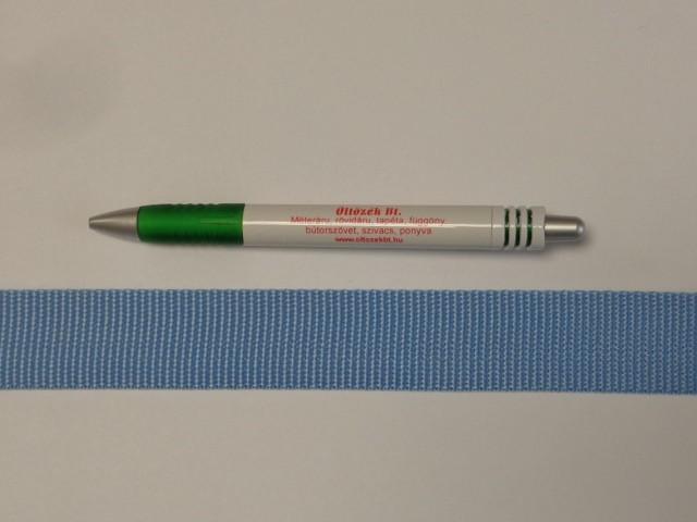 3 cm széles heveder, világos kék (11974)