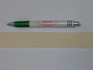 3 cm széles heveder, ekrü (11976)