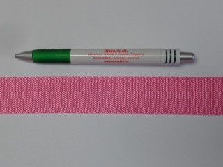 3 cm széles heveder, sötét rózsaszín (11979)