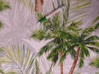 Loneta, pálmafás, kerti bútor vászon (12076)
