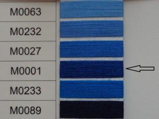 Moon cérna, kék, 1000y, 120-as vastagságú dobozos kiszerelésben (12243-001)