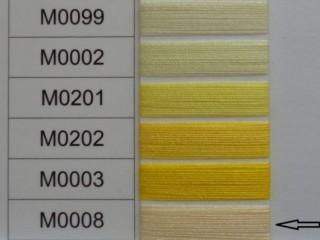 Moon cérna, sárga, 1000y, 120-as vastagságú dobozos kiszerelésben (12250-008)
