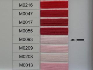 Moon cérna, rózsaszín, 1000y, 120-as vastagságú dobozos kiszerelésben (12269-093)