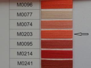 Moon cérna, narancs, 1000y, 120-as vastagságú dobozos kiszerelésben (12275-203)
