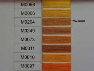 Moon cérna, óarany, 1000y, 120-as vastagságú dobozos kiszerelésben (12276-204)