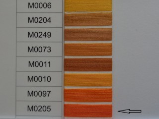 Moon cérna, narancs, 1000y, 120-as vastagságú dobozos kiszerelésben (12277-205)
